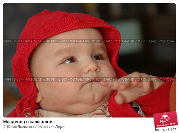 Младенец в капюшоне, фото № 3607, снято 5 апреля 2006 г. (c) Юлия Яковлева / Фотобанк Лори