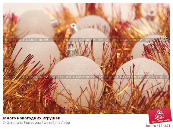 Много новогодних игрушек, фото № 121671, снято 31 октября 2007 г. (c) Останина Екатерина / Фотобанк Лори