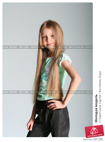 Молодая модель, фото № 257295, снято 16 марта 2008 г. (c) Харитонов Сергей / Фотобанк Лори