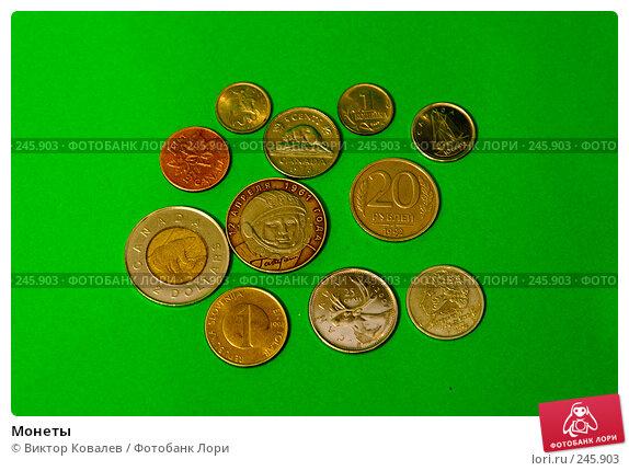 Монеты, фото № 245903, снято 8 апреля 2008 г. (c) Виктор Ковалев / Фотобанк Лори