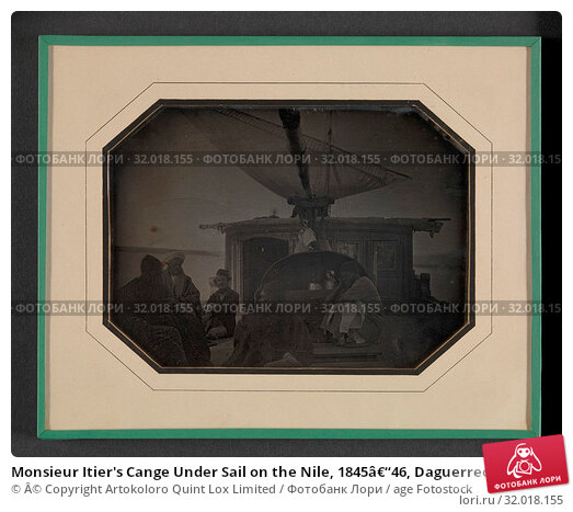 Купить «Monsieur Itier's Cange Under Sail on the Nile, 1845–46, Daguerreotype, Image (visible): 4 3/8 × 5 15/16 in. (11.1 × 15.1 cm), Photographs, Andre-Victor-Alcide-Jules Itier (French, 1805–1877)», фото № 32018155, снято 17 мая 2017 г. (c) age Fotostock / Фотобанк Лори