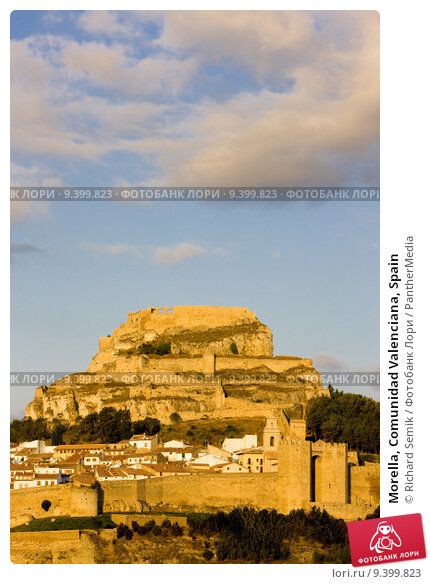 Купить «Morella, Comunidad Valenciana, Spain», фото № 9399823, снято 25 марта 2019 г. (c) PantherMedia / Фотобанк Лори