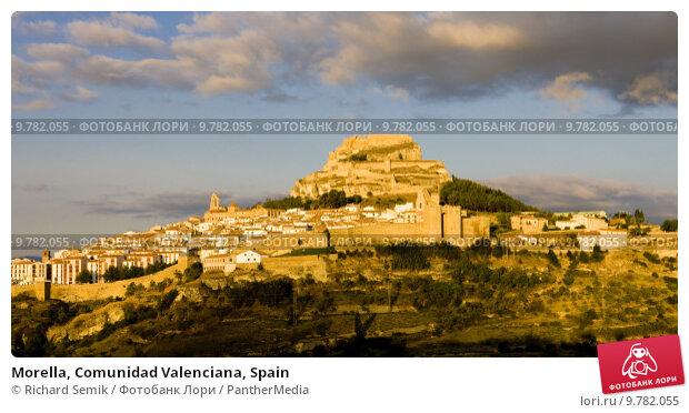 Купить «Morella, Comunidad Valenciana, Spain», фото № 9782055, снято 22 марта 2019 г. (c) PantherMedia / Фотобанк Лори