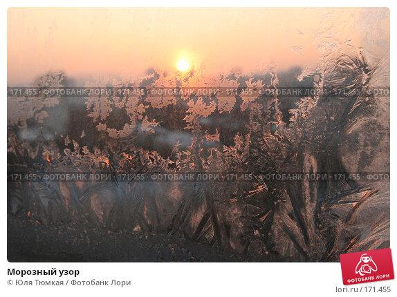 Морозный узор, фото № 171455, снято 7 января 2008 г. (c) Юля Тюмкая / Фотобанк Лори