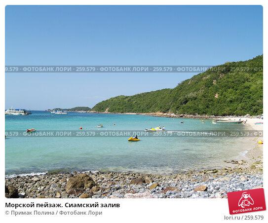 Морской пейзаж. Сиамский залив, фото № 259579, снято 18 августа 2007 г. (c) Примак Полина / Фотобанк Лори