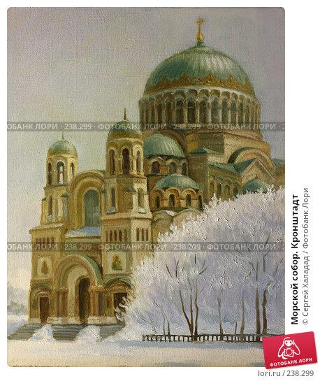 Купить «Морской собор. Кронштадт», фото № 238299, снято 15 марта 2008 г. (c) Сергей Халадад / Фотобанк Лори