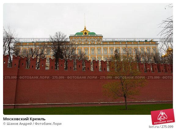 Московский Кремль, фото № 275099, снято 21 апреля 2007 г. (c) Шахов Андрей / Фотобанк Лори