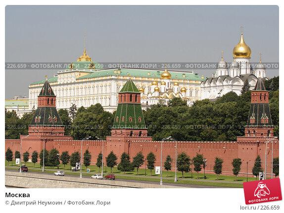 Москва, эксклюзивное фото № 226659, снято 5 июля 2007 г. (c) Дмитрий Неумоин / Фотобанк Лори