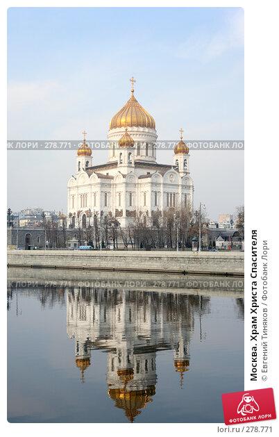 Москва. Храм Христа Спасителя, фото № 278771, снято 7 апреля 2008 г. (c) Евгений Тиняков / Фотобанк Лори
