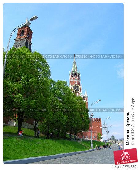 Москва. Кремль, эксклюзивное фото № 273559, снято 2 мая 2008 г. (c) lana1501 / Фотобанк Лори