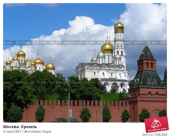 Москва. Кремль, эксклюзивное фото № 336843, снято 30 мая 2008 г. (c) lana1501 / Фотобанк Лори