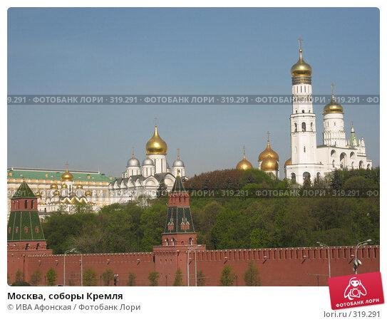 Купить «Москва, соборы Кремля», фото № 319291, снято 30 апреля 2008 г. (c) ИВА Афонская / Фотобанк Лори