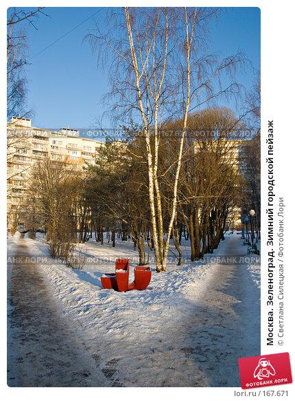 Купить «Москва. Зеленоград. Зимний городской пейзаж», фото № 167671, снято 7 января 2008 г. (c) Светлана Силецкая / Фотобанк Лори