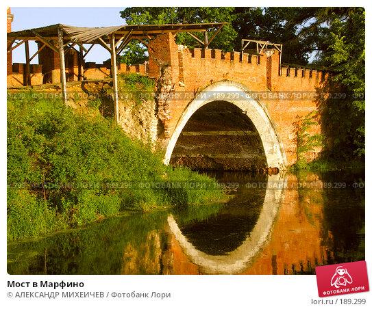 Мост в Марфино, фото № 189299, снято 17 июня 2006 г. (c) АЛЕКСАНДР МИХЕИЧЕВ / Фотобанк Лори