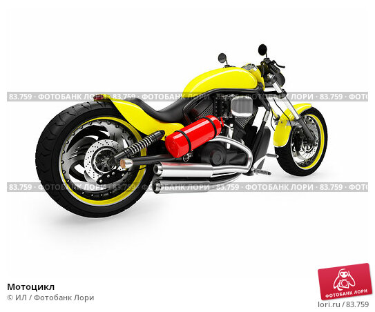Мотоцикл, иллюстрация № 83759 (c) ИЛ / Фотобанк Лори