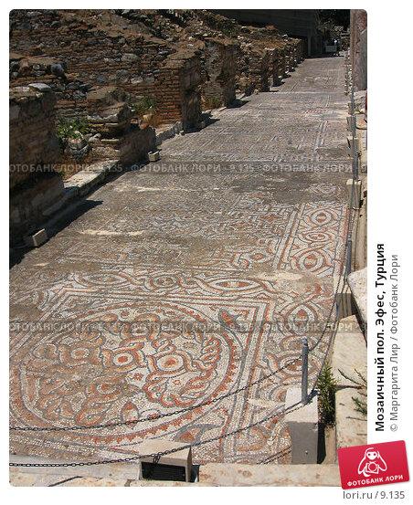 Мозаичный пол. Эфес, Турция, фото № 9135, снято 26 октября 2016 г. (c) Маргарита Лир / Фотобанк Лори
