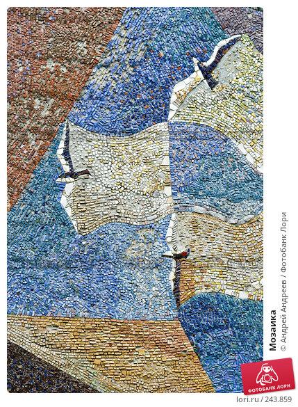 Мозаика, фото № 243859, снято 24 сентября 2006 г. (c) Андрей Андреев / Фотобанк Лори