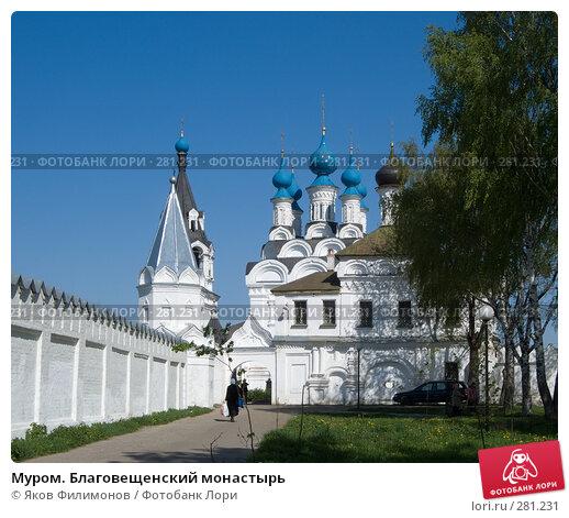 Муром. Благовещенский монастырь, фото № 281231, снято 2 мая 2008 г. (c) Яков Филимонов / Фотобанк Лори