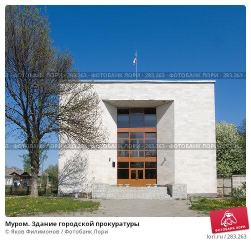 Муром. Здание городской прокуратуры, фото № 283263, снято 2 мая 2008 г. (c) Яков Филимонов / Фотобанк Лори