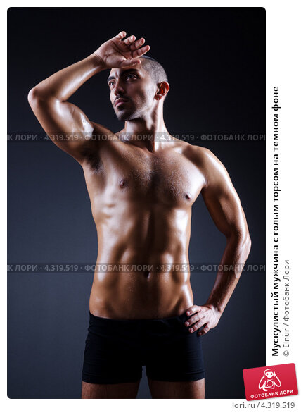 Комментарий под фото мужчины с голым торсом