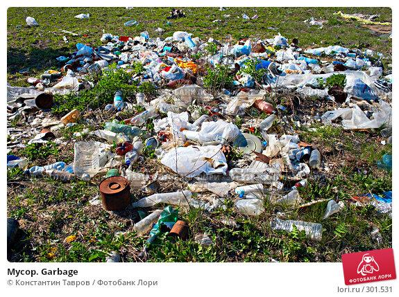 Мусор. Garbage, фото № 301531, снято 3 мая 2008 г. (c) Константин Тавров / Фотобанк Лори