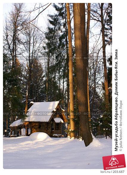 Музей-усадьба Абрамцево. Домик Бабы-Яги. Зима, фото № 203687, снято 5 февраля 2008 г. (c) Julia Nelson / Фотобанк Лори