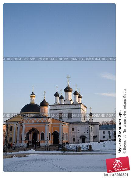Мужской монастырь, фото № 266591, снято 2 января 2008 г. (c) Вячеслав Потапов / Фотобанк Лори