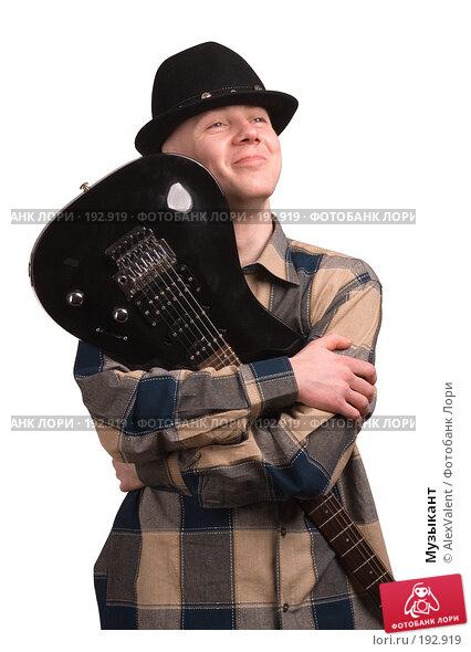 Музыкант, фото № 192919, снято 21 февраля 2017 г. (c) AlexValent / Фотобанк Лори