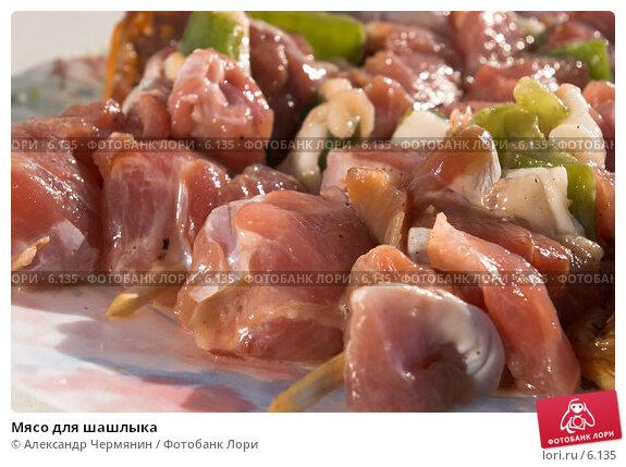 Мясо для шашлыка, фото № 6135, снято 17 июля 2006 г. (c) Александр Чермянин / Фотобанк Лори
