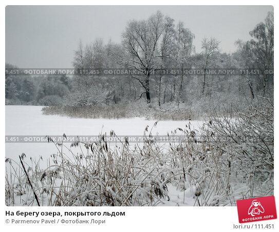 На берегу озера, покрытого льдом, фото № 111451, снято 15 февраля 2007 г. (c) Parmenov Pavel / Фотобанк Лори