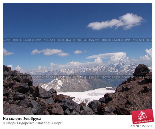 На склоне Эльбруса, фото № 156511, снято 4 августа 2006 г. (c) Игорь Сидоренко / Фотобанк Лори
