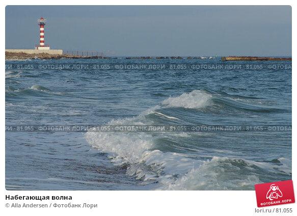 Набегающая волна, фото № 81055, снято 30 ноября 2005 г. (c) Alla Andersen / Фотобанк Лори