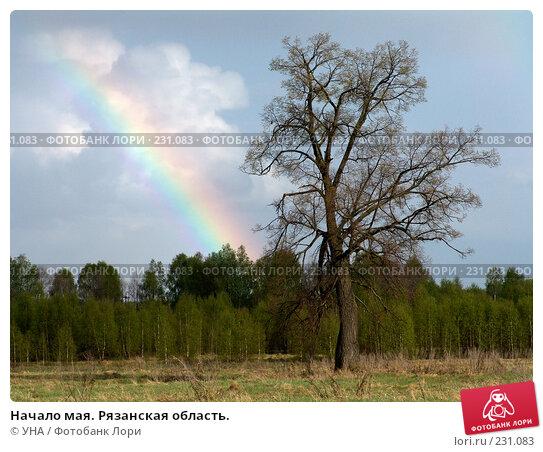 Начало мая. Рязанская область., фото № 231083, снято 13 мая 2006 г. (c) УНА / Фотобанк Лори