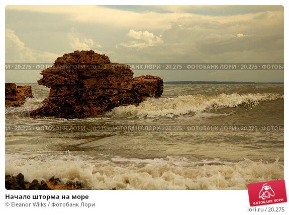 Начало шторма на море, фото № 20275, снято 5 марта 2007 г. (c) Eleanor Wilks / Фотобанк Лори