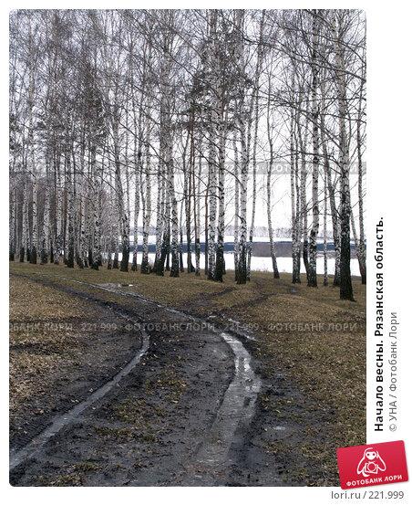 Начало весны. Рязанская область., фото № 221999, снято 9 марта 2008 г. (c) УНА / Фотобанк Лори