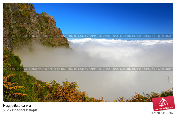 Над облаками, фото № 319187, снято 26 октября 2016 г. (c) Михаил / Фотобанк Лори