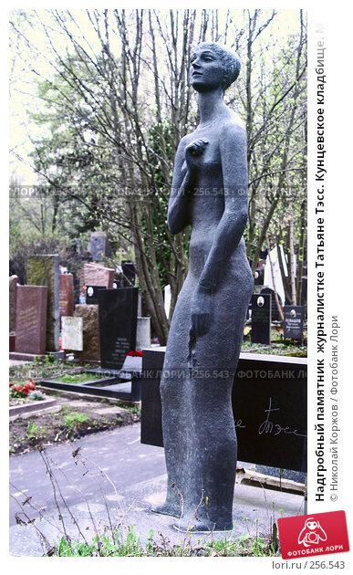 Надгробный памятник  журналистке Татьяне Тэсс. Кунцевское кладбище. Москва., фото № 256543, снято 18 марта 2008 г. (c) Николай Коржов / Фотобанк Лори