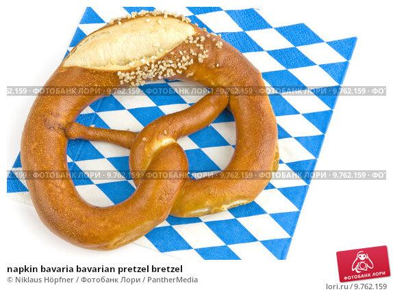 Купить «napkin bavaria bavarian pretzel bretzel», фото № 9762159, снято 19 марта 2019 г. (c) PantherMedia / Фотобанк Лори