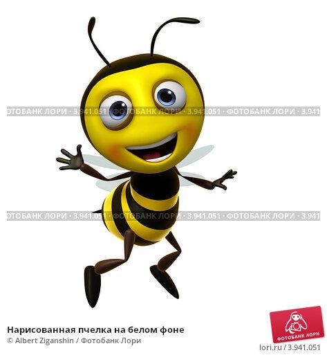 пчелка нарисованные картинки