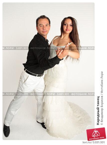 Купить «Народный танец», фото № 3031931, снято 21 сентября 2011 г. (c) Владимир Борисов / Фотобанк Лори