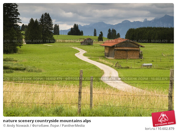 nature scenery countryside mountains alps. Стоковое фото, фотограф Andy Nowack / PantherMedia / Фотобанк Лори
