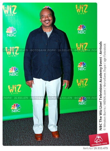NBC The Wiz Live! Television Academy Event - Arrivals Featuring: David Alan Grier Where: Los Angeles, California, United States When: 01 Jun 2016 Credit: Winston Burris/WENN.com, фото № 26933479, снято 1 июня 2016 г. (c) age Fotostock / Фотобанк Лори