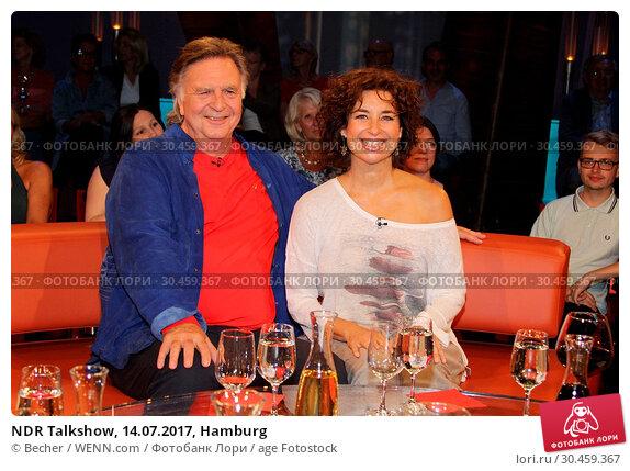 NDR Talkshow, 14.07.2017, Hamburg. Редакционное фото, фотограф Becher / WENN.com / age Fotostock / Фотобанк Лори