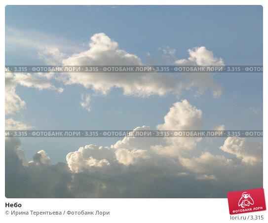 Небо, эксклюзивное фото № 3315, снято 7 июля 2004 г. (c) Ирина Терентьева / Фотобанк Лори