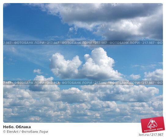 Небо. Облака, фото № 217987, снято 30 марта 2017 г. (c) ElenArt / Фотобанк Лори