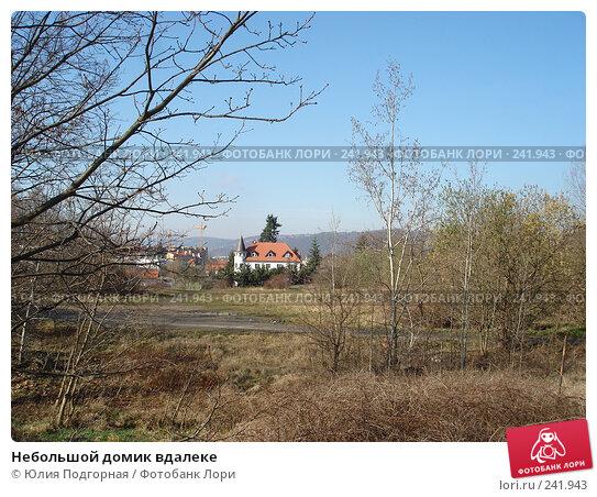 Небольшой домик вдалеке, фото № 241943, снято 15 марта 2008 г. (c) Юлия Селезнева / Фотобанк Лори
