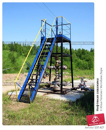 Нефтяная скважина, фото № 237427, снято 23 июня 2004 г. (c) Илья Телегин / Фотобанк Лори