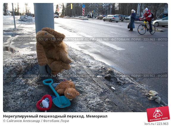 Нерегулируемый пешеходный переход. Мемориал, эксклюзивное фото № 223963, снято 26 февраля 2008 г. (c) Сайганов Александр / Фотобанк Лори