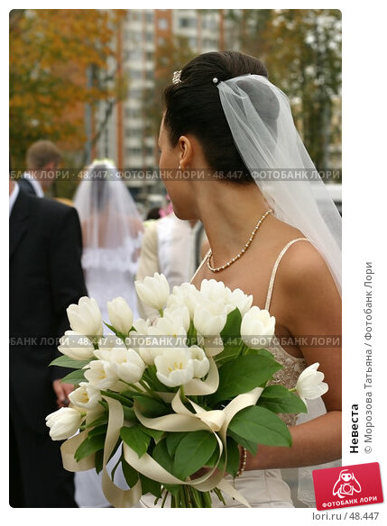 Купить «Невеста», фото № 48447, снято 30 сентября 2006 г. (c) Морозова Татьяна / Фотобанк Лори