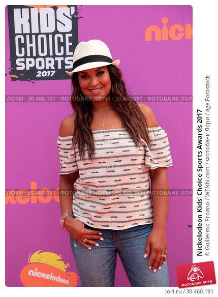 Nickelodeon Kids' Choice Sports Awards 2017. Редакционное фото, фотограф Guillermo Proano / WENN.com / age Fotostock / Фотобанк Лори